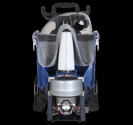 Pacvac Superpro 700 Vacuum Cleaner Backpack 2 Cloth Bags