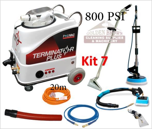 Polivac Terminator Plus Mini Wet Extraction Kit 7
