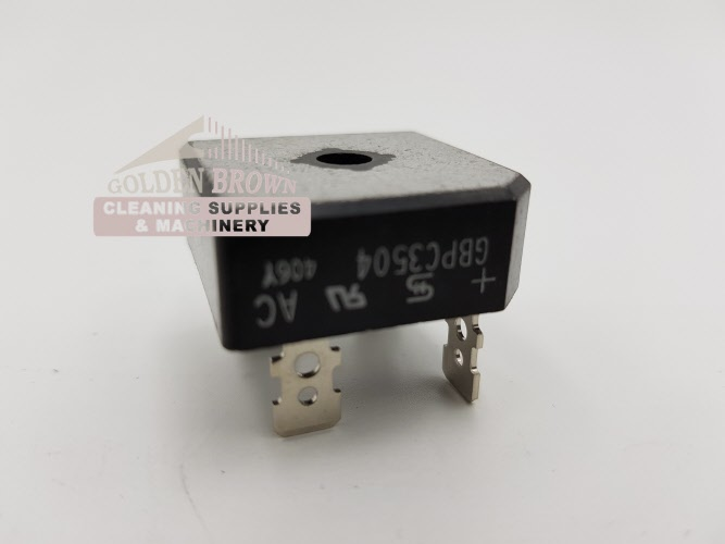 Electronic Tab Capacitor Bridge Rectifier Amp Circuit