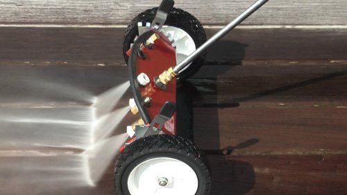 Deluxe Water Broom Pressure Washer 4000 Psi General Pump